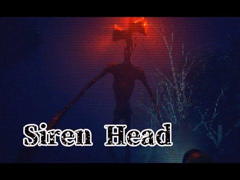 【Siren Head 】SCP-6789? - Siren Head (サイレンヘッド)が住む森