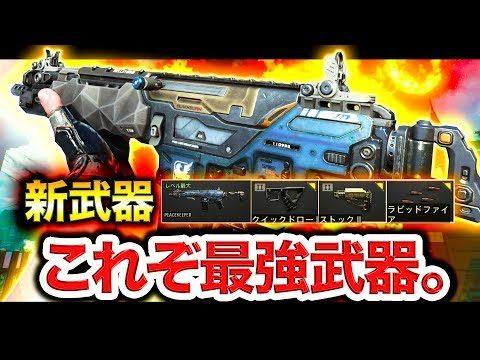 【BO4】これぞ最強。新武器PEACEKEEPERの化け物カスタムを紹介。【スピード特化】